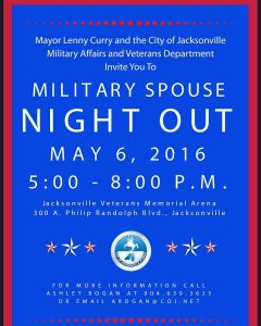 Tri-Base Military Spouse Night Out