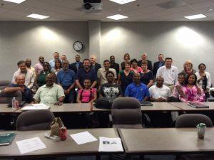 UNF participants in the Veterans Florida Entrepreneurship Program