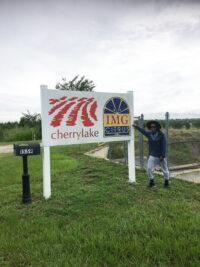Louis Fitzgerald at Cherrylake's Palm Farm in Ft. Pierce